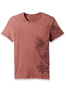 Buffalo Jeans Buffalo David Bitton Men's Tatrope Short Sleeve Crew Neck Fashion Graphic T-Shirt