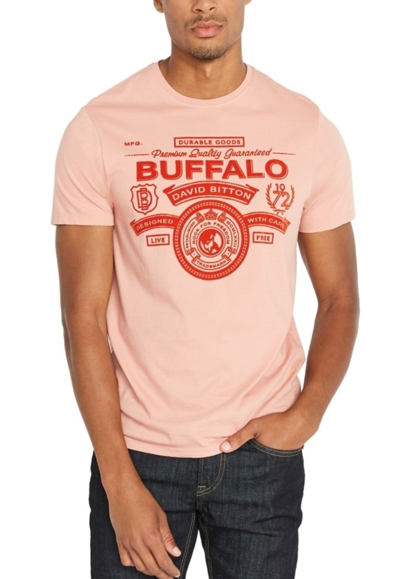 Buffalo Jeans Buffalo David Bitton Men's Tibark Graphic T-Shirt