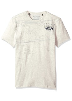 Buffalo Jeans Buffalo David Bitton Men's Tibuff Short Sleeve Crewneck Fashion Graphic T-Shirt