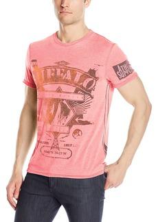 Buffalo Jeans Buffalo David Bitton Men's Tighe Short Sleeve Crewneck Fashion T-Shirt