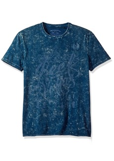 Buffalo Jeans Buffalo David Bitton Men's Tijoy Short Sleeve Crewneck Fashion T-Shirt