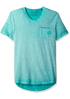 Buffalo Jeans Buffalo David Bitton Men's Timap Short Sleeve Vneck Fashion T-Shirt