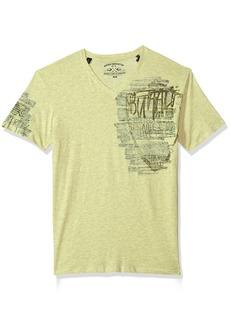 Buffalo Jeans Buffalo David Bitton Men's Tirage Short Sleeve V-Neck T-Shirt