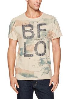 Buffalo Jeans Buffalo David Bitton Men's Tiside Short Sleeve Crewneck Graphic Fashion T-Shirt