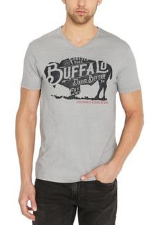 Buffalo Jeans Buffalo David Bitton Men's Tistor Logo Graphic V-Neck T-Shirt