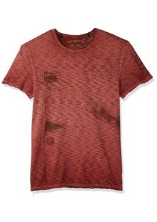 Buffalo Jeans Buffalo David Bitton Men's Toment Short Sleeve Crew-Neck Fashion Graphic T-Shirt