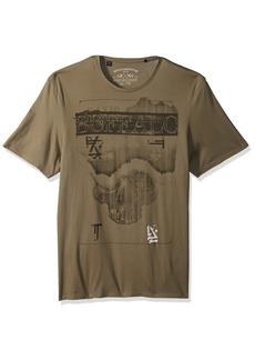 Buffalo Jeans Buffalo David Bitton Men's Totool Short Sleeve Crew Neck T-Shirt