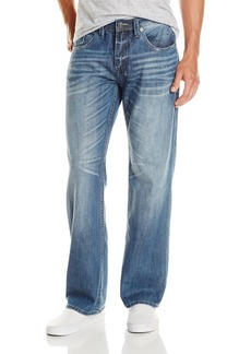 Buffalo Jeans Buffalo David Bitton Men's Travis Relaxed Fit Jean in Lucas Blue  33x32