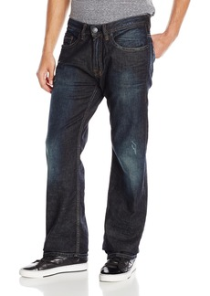 Buffalo Jeans Buffalo David Bitton Men's Travis Relaxed Straight Leg Jean In   36x30