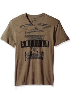 Buffalo Jeans Buffalo David Bitton Men's Tufil Short Sleeve V-Neck T-Shirt