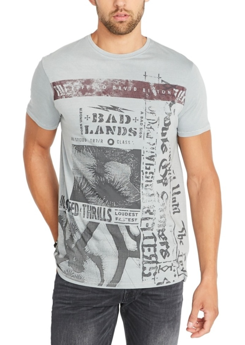 Buffalo Jeans Buffalo David Bitton Men's Tupad Graphic T-Shirt
