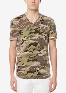 Buffalo Jeans Buffalo David Bitton Men's V-Neck Camo T-Shirt