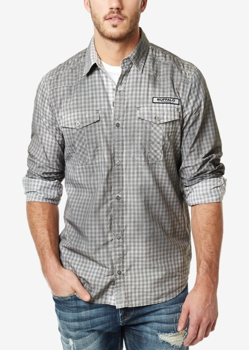 Buffalo Jeans Buffalo David Bitton Men's Vintage Check Long-Sleeve Shirt