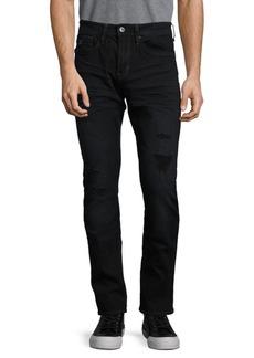 Buffalo Jeans BUFFALO David Bitton Mid-Rise Distressed Jeans