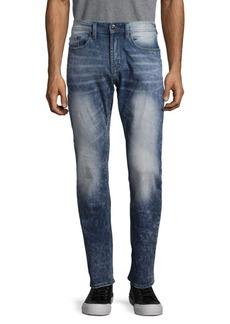 Buffalo Jeans BUFFALO David Bitton Mid-Rise Washed Jeans