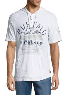 Buffalo Jeans BUFFALO David Bitton Nadano Graphic Hooded Pullover