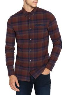 Buffalo Jeans BUFFALO David Bitton Satorz Slim-Fit Plaid Shirt