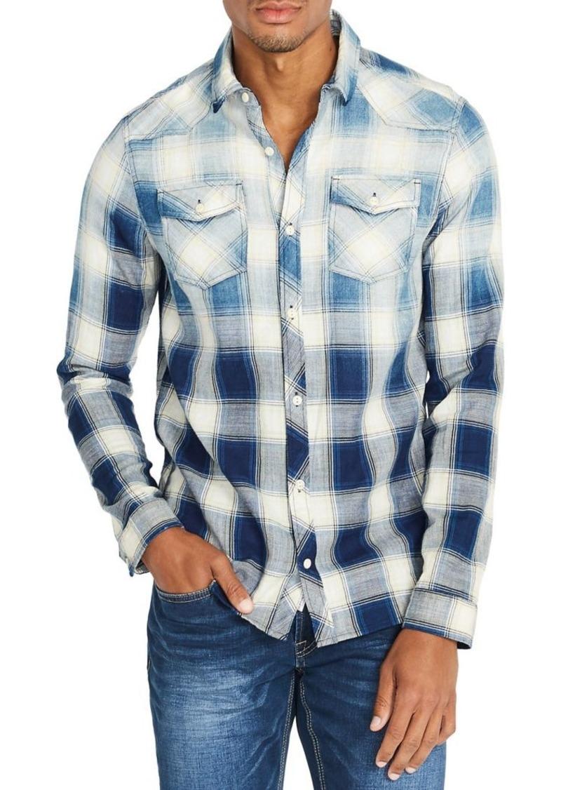 Buffalo Jeans BUFFALO David Bitton Regular-Fit Plaid Shirt