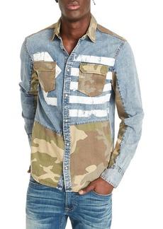 Buffalo Jeans BUFFALO David Bitton Sarax Regular-Fit Denim Shirt