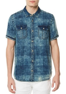Buffalo Jeans BUFFALO David Bitton Sayev Printed Cotton Button-Down Shirt