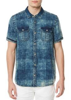 Buffalo Jeans BUFFALO David Bitton Sayev Printed Cotton Button-Down Shirt