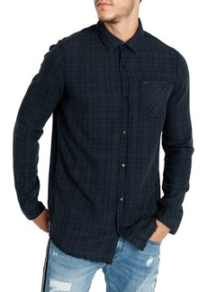 Buffalo Jeans BUFFALO David Bitton Siact Regular-Fit Plaid Shirt
