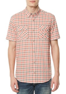Buffalo Jeans BUFFALO David Bitton Siduvan Plaid Utility Short-Sleeve Shirt