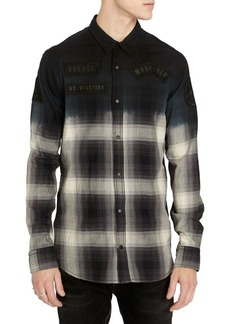 Buffalo Jeans BUFFALO David Bitton Silvont Ombre Button-Down Shirt