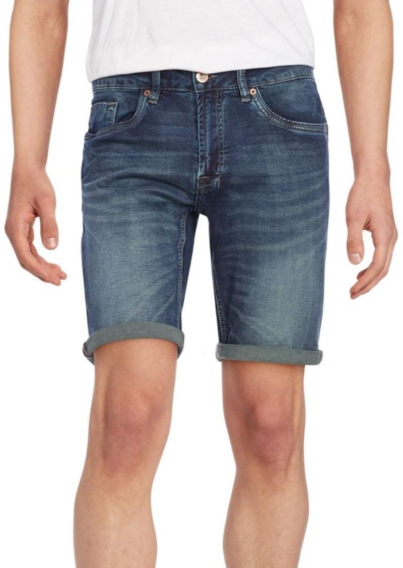 Buffalo Jeans BUFFALO David Bitton Six -X Cuffed Denim Shorts