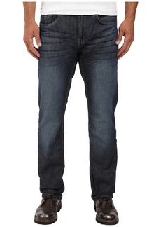 Buffalo Jeans Six Straight Leg Jeans in Rigid and Slightly Sanded