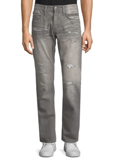 Buffalo Jeans Slim-Fit Distressed Jeans
