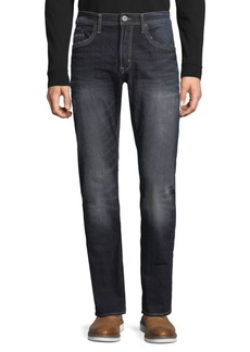 Buffalo Jeans Slim Straight Distressed Jeans