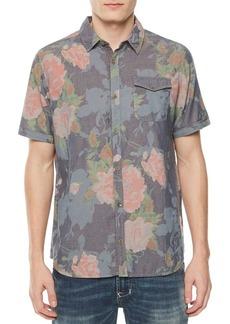 Buffalo Jeans BUFFALO David Bitton Sofre Short-Sleeve Button-Down Shirt