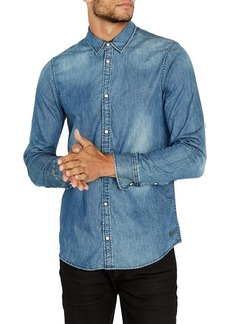 Buffalo Jeans BUFFALO David Bitton Solanis Button Denim Shirt