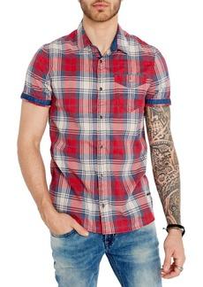 Buffalo Jeans BUFFALO David Bitton Somuryon Plaid Button-Down Shirt