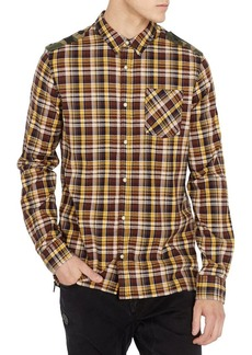 Buffalo Jeans BUFFALO David Bitton Sooter-X Plaid Slim Stretch-Fit Shirt