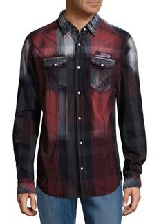 Buffalo Jeans BUFFALO David Bitton Steban Cotton Button-Down Shirt