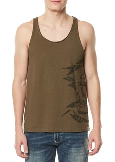Buffalo Jeans BUFFALO David Bitton Taltest Raw-Edge Graphic Tank