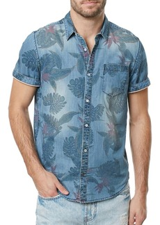 Buffalo Jeans BUFFALO David Bitton Tropical Chambray Sportshirt
