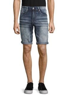 Buffalo Jeans BUFFALO David Bitton Whiskered Five-Pocket Shorts
