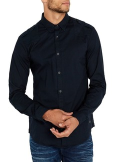 Buffalo Jeans BUFFALO David Bitton Woven Slim Stretch-Fit Shirt