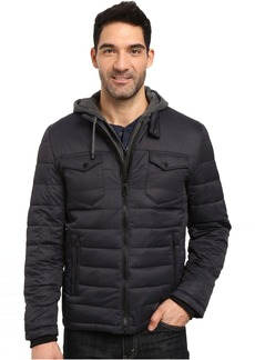 Buffalo Jeans Buffalo David Bitton Zip Front Twill Jacket with Hood