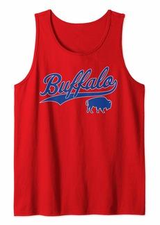 Buffalo Jeans Buffalo Football   Vintage New York Bills Mafia Sports Gift Tank Top