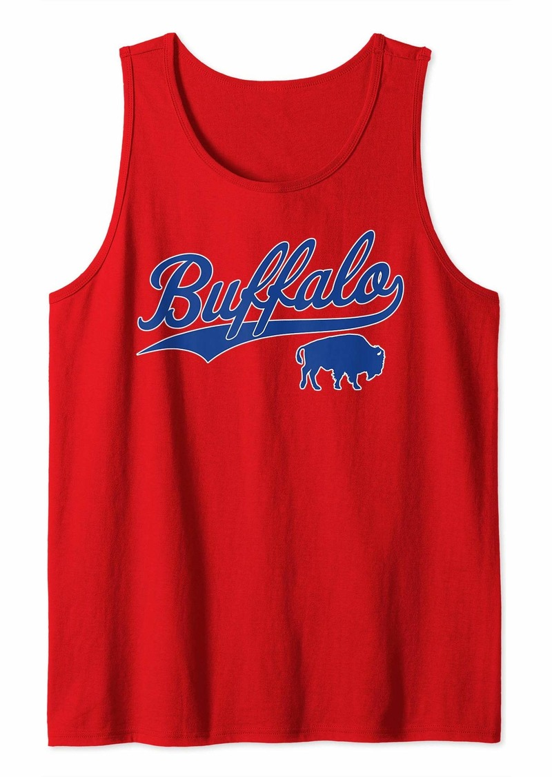 Buffalo Jeans Buffalo Football | Vintage New York Bills Mafia Sports Gift Tank Top