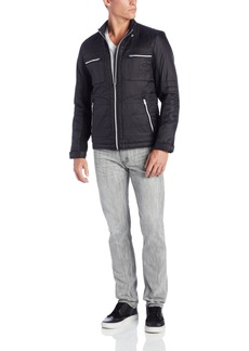 Buffalo Jeans Buffalo Men's Cire Zip Front Quilted Jacket