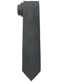 Buffalo Jeans Buffalo Men's Matt Textured Solid Tie Grey
