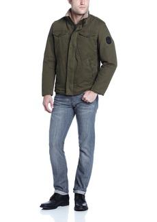 Buffalo Jeans Buffalo Men's Zip Front Jacket with Inside Collar  Large