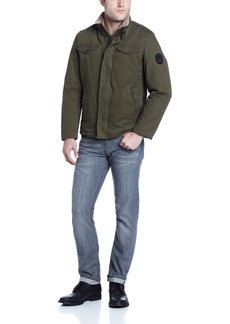 Buffalo Jeans Buffalo Men's Zip Front Jacket with Inside Collar  X-Large