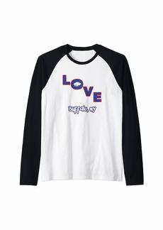 Buffalo Jeans Buffalo New York T Shirt - Love Buffalo New York Raglan Baseball Tee