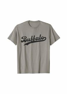 Buffalo Jeans Buffalo NY Simple Script Vintage Lake Erie New York T-Shirt